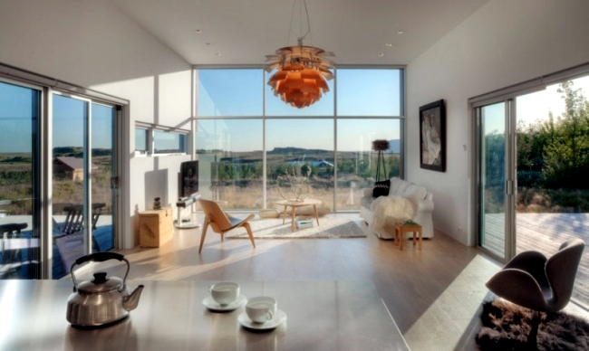 modern green home designs minarc ice house a modern green home high value interior
