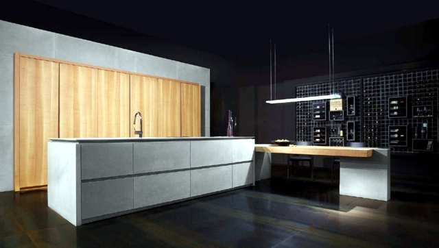 ideas inspired kitchen wood modules natural appearance | interior, Kuchen dekoo