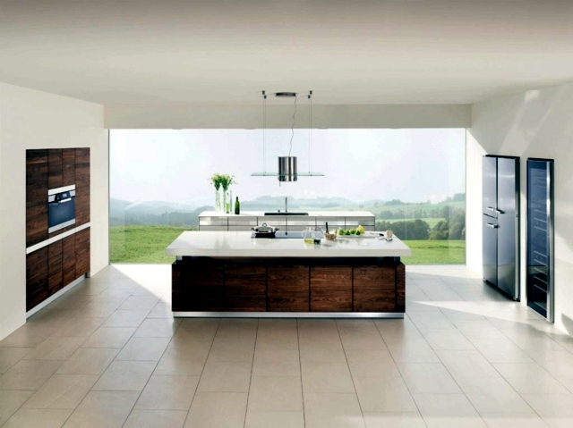 Ideas inspired kitchen wood Modules natural appearance