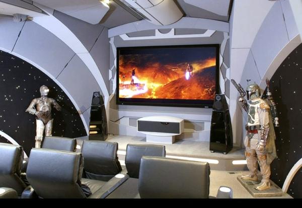Futuristic Installation - how the interior of the future?