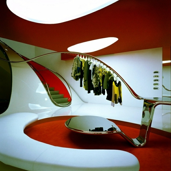 Futuristic Installation - how the interior of the future?