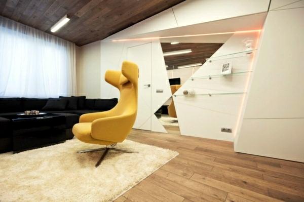 Futuristic Installation How The Interior Of The Future
