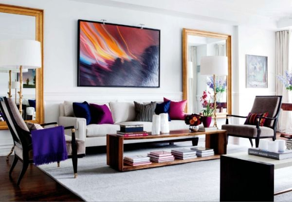 Use abstract art as decorative items for the modern home for Modern things for home