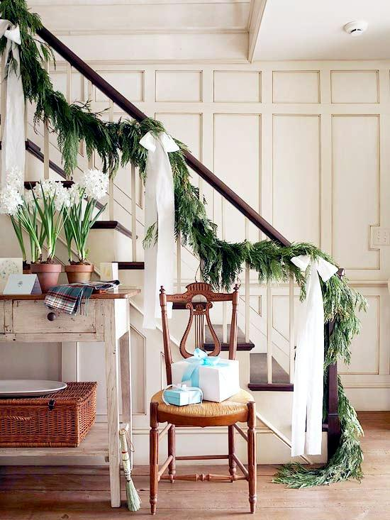 Draped Party Garlands - Christmas decorations and ideas for home