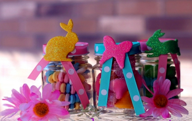 crafts for easter jam jars can replace easter baskets interior