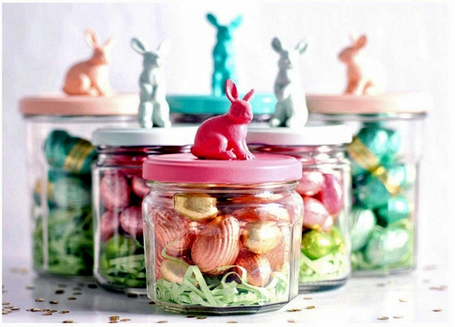 Crafts For Easter Jam Jars Can Replace Easter Baskets Interior Magnificent How To Decorate Jelly Jars
