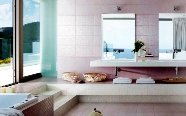 Modern bathroom tile ideas for bathroom colors -20 ...
