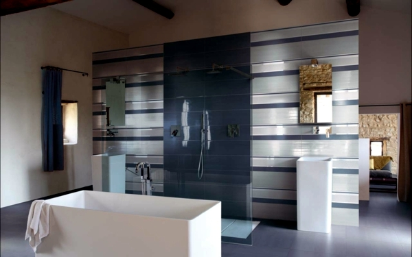 The Bathroom Tiles Are The Work Of Designer Chic Designer Iris Ceramica.  The Company Is A Leader In The Production Of Tiles And Is Involved In The  ...
