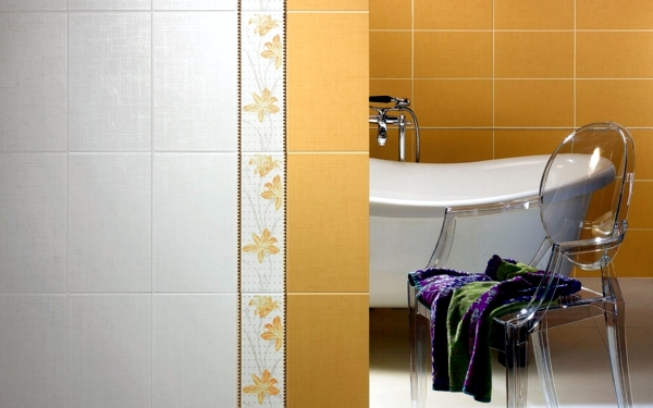 Modern bathroom tile ideas for bathroom colors -20