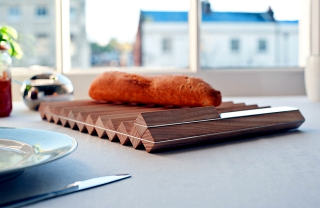 Innovative wood kitchen utensils - Valentin Bussard design