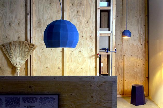 Porcelain veneers disco ball hanging lamp inspired