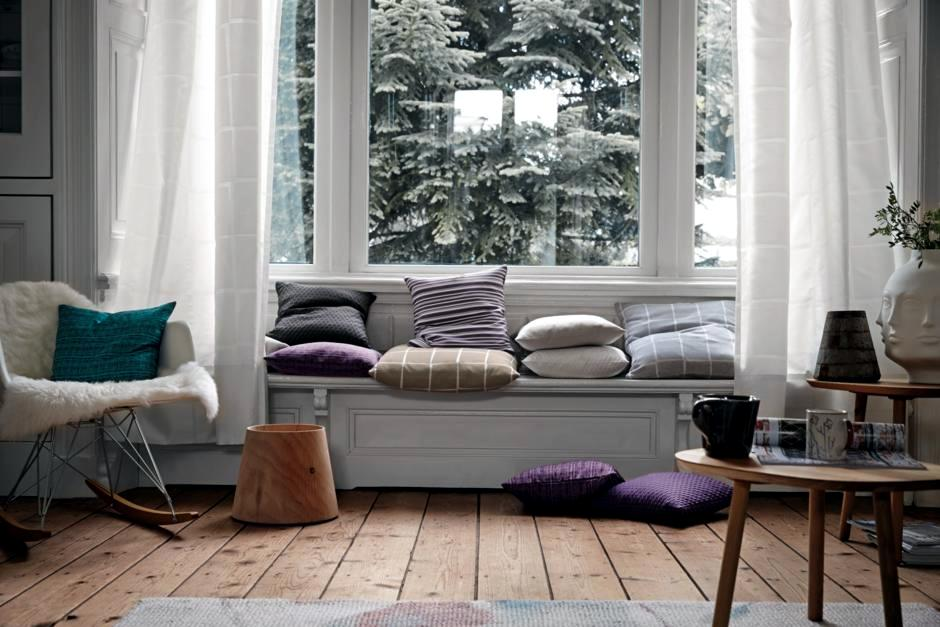 Comfortable Seat By The Window Interior Design Ideas