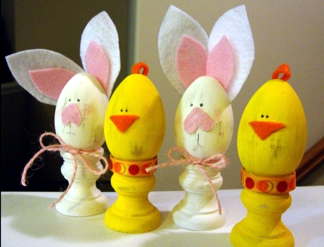 Easter Decor own ship - Achieve 20 great ideas with children