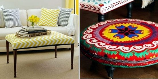 15 Creative Ideas for Atmospheric ottoman to create your own