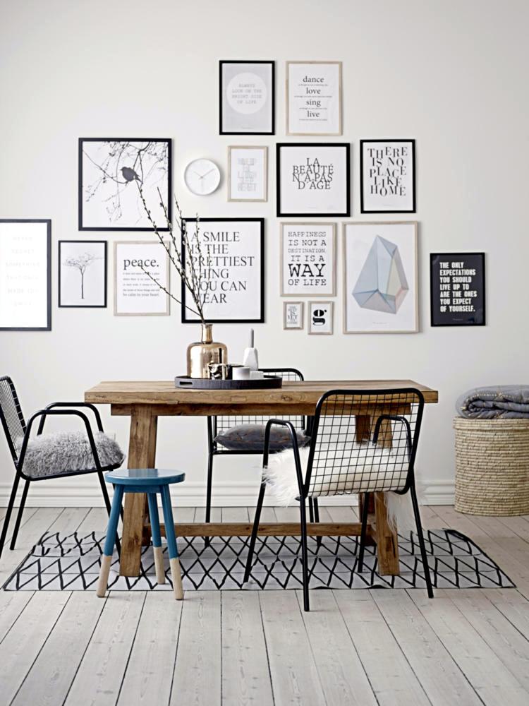 Wall Decoration With Frames Interior Design Ideas Ofdesign