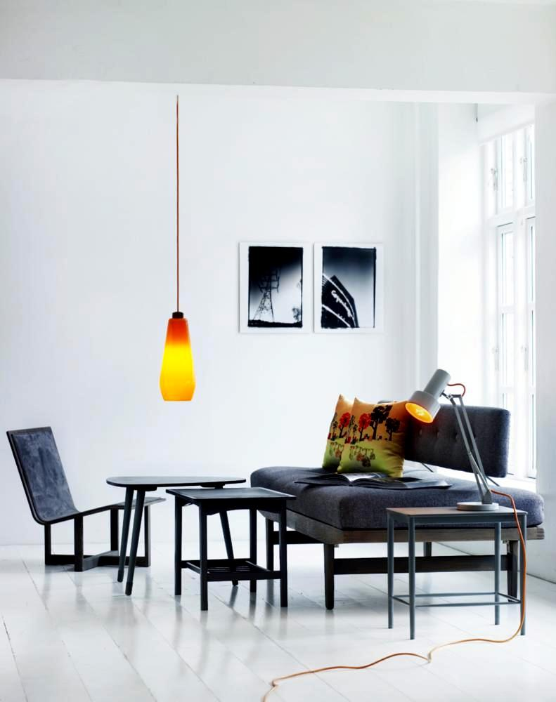 Interior design ideas ofdesign for 1950s minimalist house