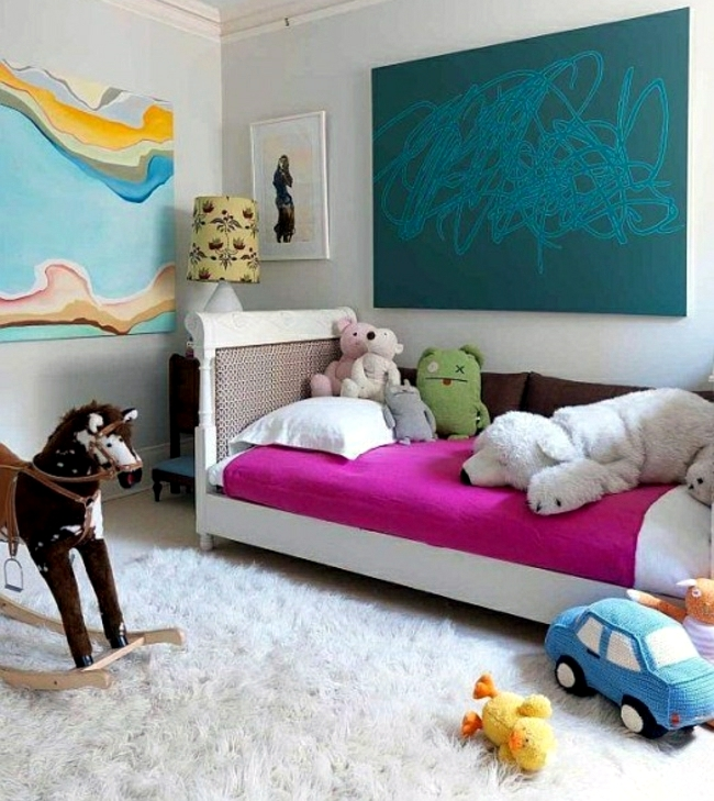 Original kids room decorating ideas and furniture grows with your child