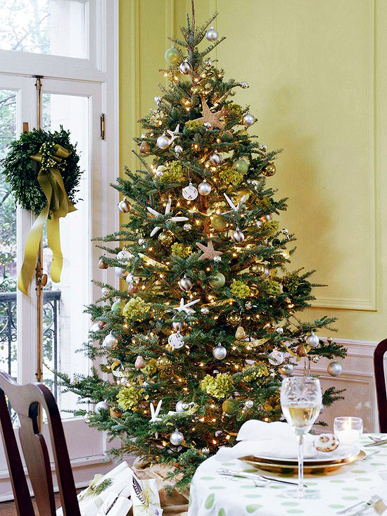 Christmas Tree Decorating Styles : Christmas tree decoration different styles and