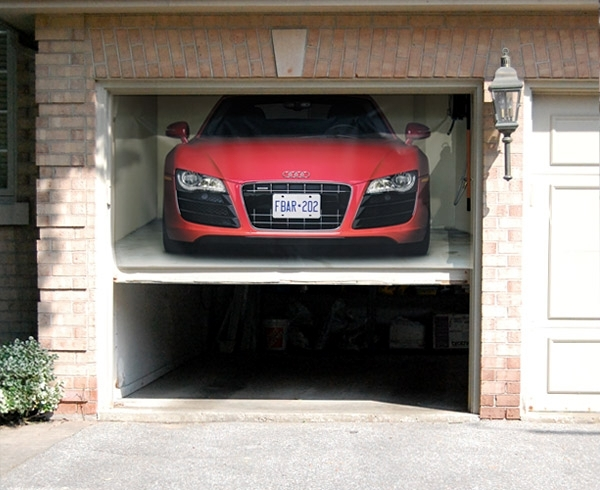 Roller Garage Doors Custom Design Ideas With Wall