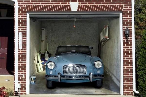 Roller garage doors - custom design ideas with wall stickers 3d