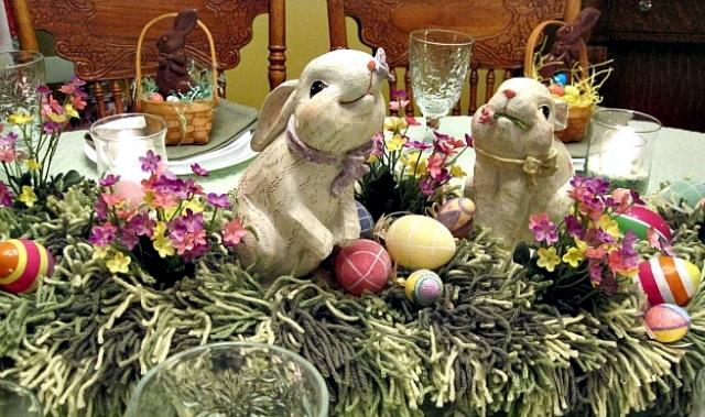 Table Decorations Easter Is The Happiest And Most