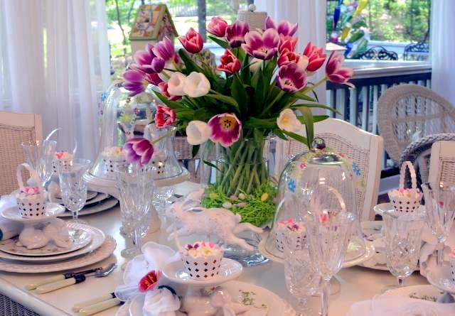 If You Prefer Neutral Tones So Let Your Easter Table Decorated In Beige Or Pink Bunny Porcelain Look Equally Stylish And Elegant