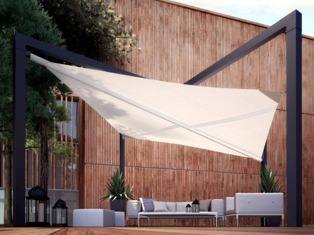 "Terrace canopy ""Mistral"" pratic in contemporary design"