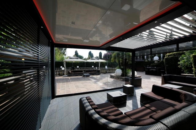 Bioclimatic Biossun aluminum roofs