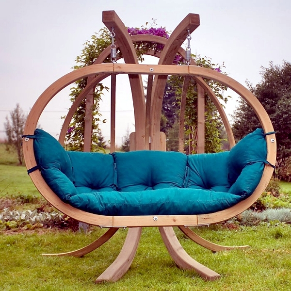 Beautiful and comfortable hammock chair with stand - 20 ideas for your home