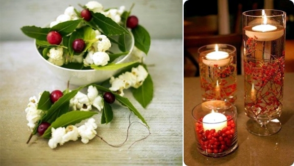 Christmas decorating ideas with red berries to make your own