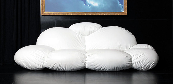 Creative Design Sofa as a cloud Dizajno