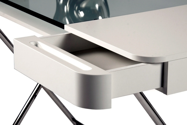 Desk with drawers design office Inside Cosimo