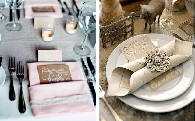 Napkin Folding – 75 summer ideas for table decoration | Interior ...