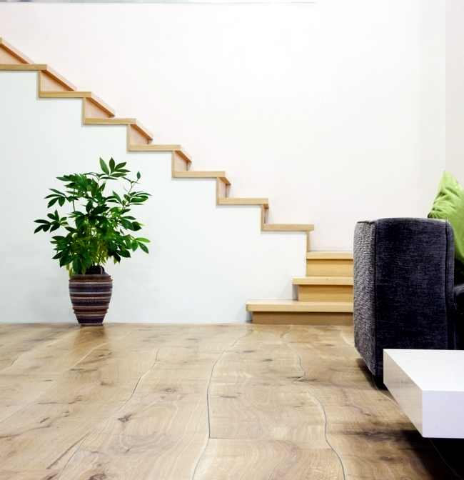 The Bolefloor hardwood floors - hardwood doctorate in direct contact with nature