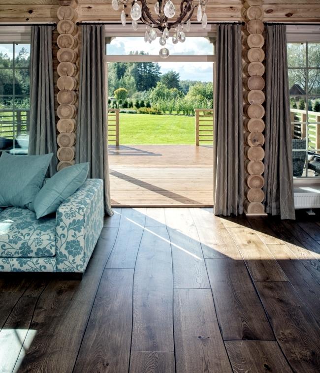 The Bolefloor hardwood floors - hardwood doctorate in direct contact with nature