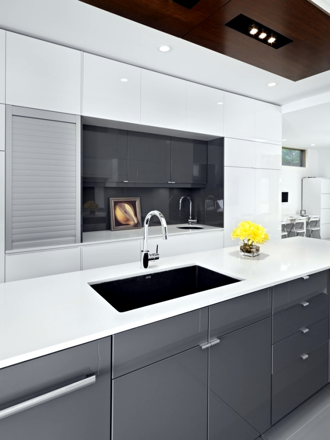 20 ideas to hide the appliances in the kitchen interior for Kitchen design 4 5