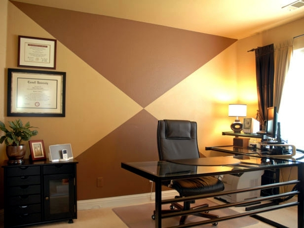 Creative wall decoration with color - 18 ideas for accent colors