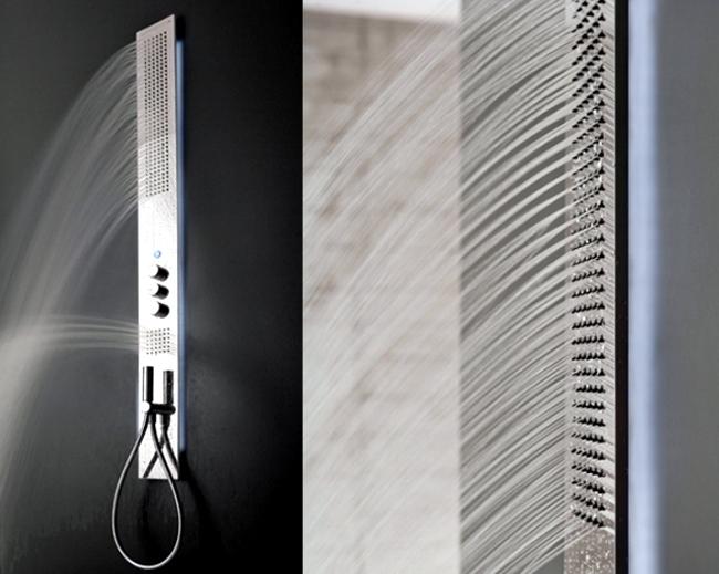 Shower column being Obliqua Zazzeri offers a range of