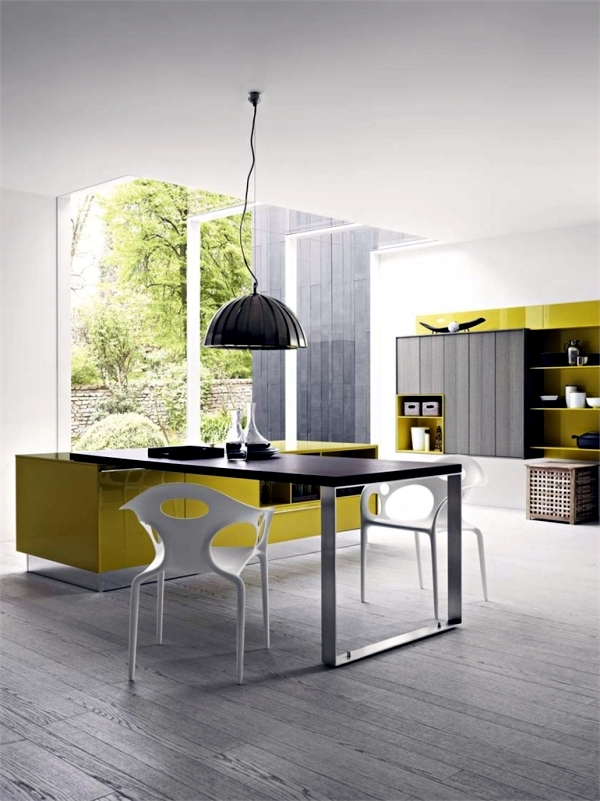Kalea Kitchen Design by Cesar Arredamenti in harmonious colors