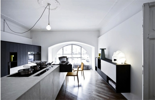 Kalea Kitchen Design by Cesar Arredamenti in harmonious colors