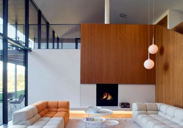 Contemporary Wall Cladding Wood Creates A Warm Interior Design Ideas Ofdesign
