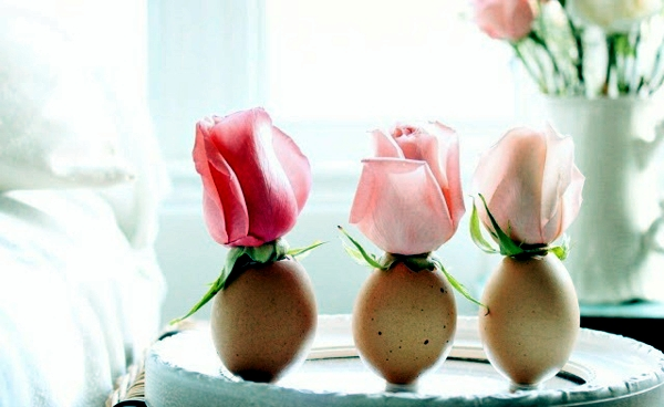 Tinker Frühlingsdeko - 25 ideas to make their own eggshells
