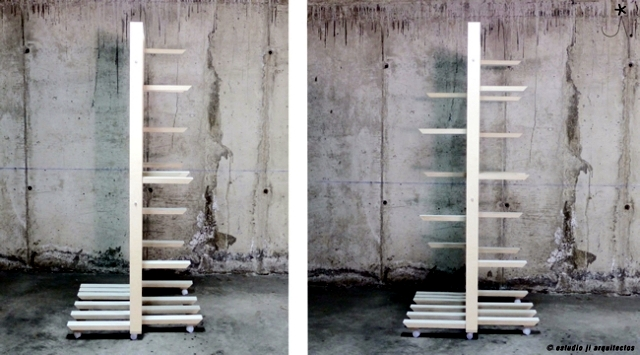 cap a modular partition of Spanish design duo Jorge