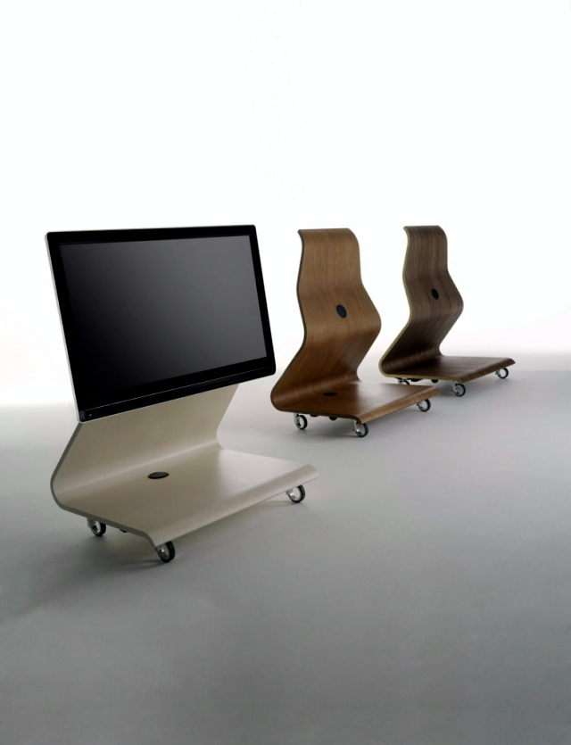 Unusual Living Room Furniture Support For Lcd Tv By