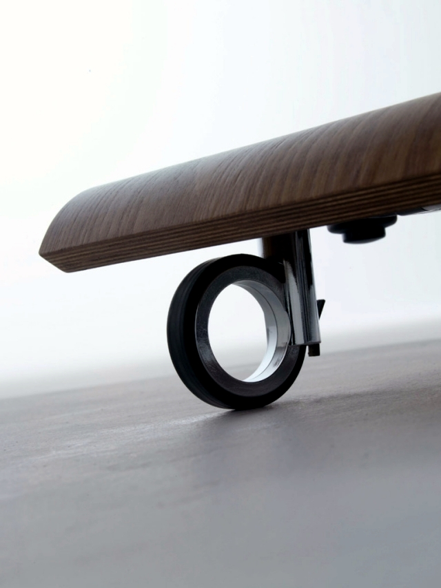 Unusual Living Room Furniture - Support for LCD TV by Mario Bellini