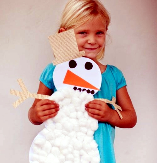 Crafts with children - if not Christmas really fun!