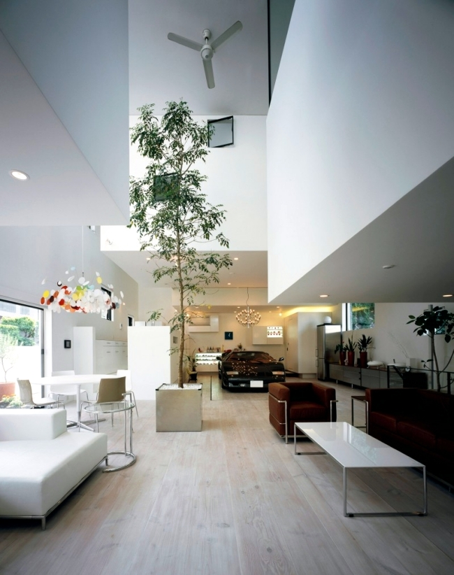 Lift The Favorite Car Of The Elevator To The Room Modern House