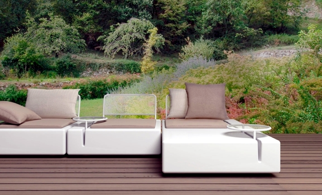 Set of garden furniture Vondom for outdoor living