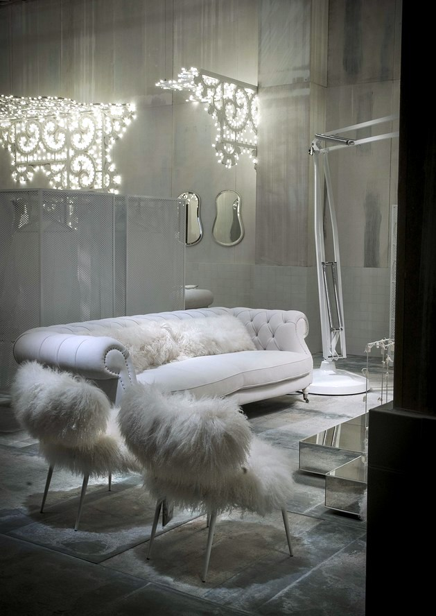 Furniture design in white - fabulous collection of furniture Baxter