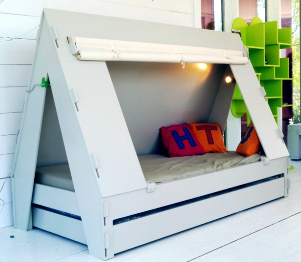 Trundle Bed With A Roof Store Invites Adventure Interior
